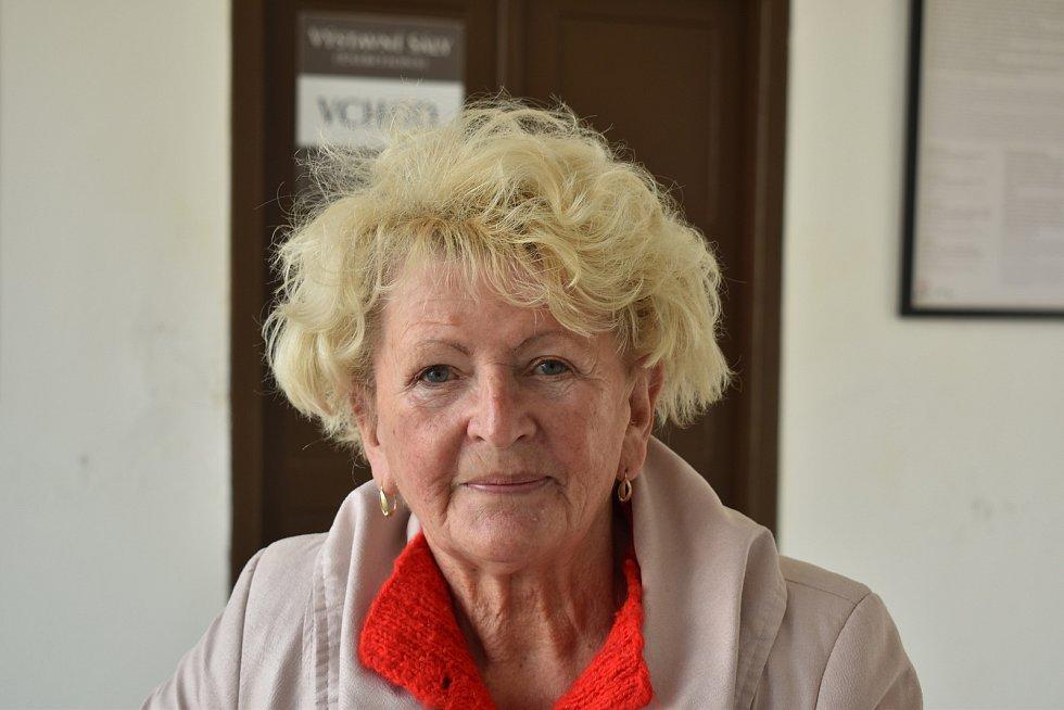 Eliška Vavříčková, 78 let, v důchodu.