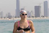 Blanenská plavkyně Silvie Rybářová startovala minulý víkend na Světovém poháru dálkových plavců. V Dubaji skončila na desetikilometrové trati dvacátá.