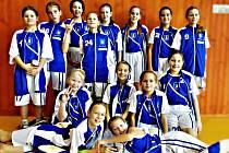 Minižákyně BK Blansko - kategorie U12.