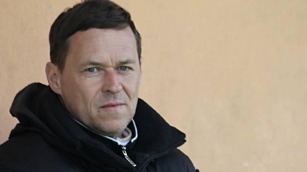 Petr Vašíček trenér fotbalistů Olympie Ráječko