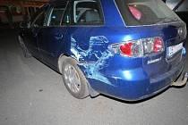 Přes jedno a půl promile nadýchala řidička, která bourala na parkovišti ve Velkých Opatovicích. Žena po kolizi sama přivolala policejní hlídku.
