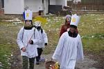 Ve Sloupu na Blanensku začala o víkendu Tříkrálová sbírka.