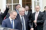 Prezident Miloš Zeman navštívil Boskovice.