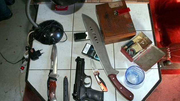 Kriminalisté odhalili kompletní varnu pervitinu.