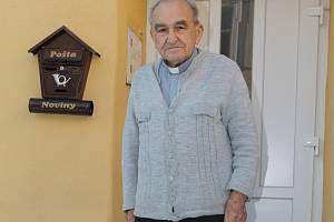 Emeritní farář Tomáš Prnka byl velmi skromný člověk, který značnou část svého života spojil se Křtinami.