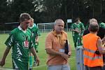 Fotbalisté Rájce-Jestřebí prazili v krajském poháru Slatinu 3:2.