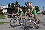 Sedmnáctý ročník Vysočanského triatlonu přilákal 112 sportovců. Úspěch měl i lidový závod.