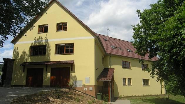 Ozdravovna ve Křetíně.