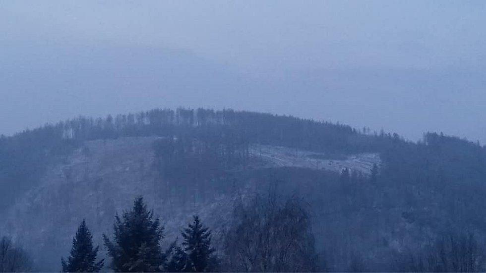 Do Boskovic se na samém začátku jara vrátila zima.