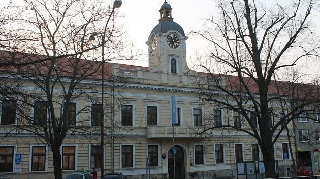 Blanenská radnice.