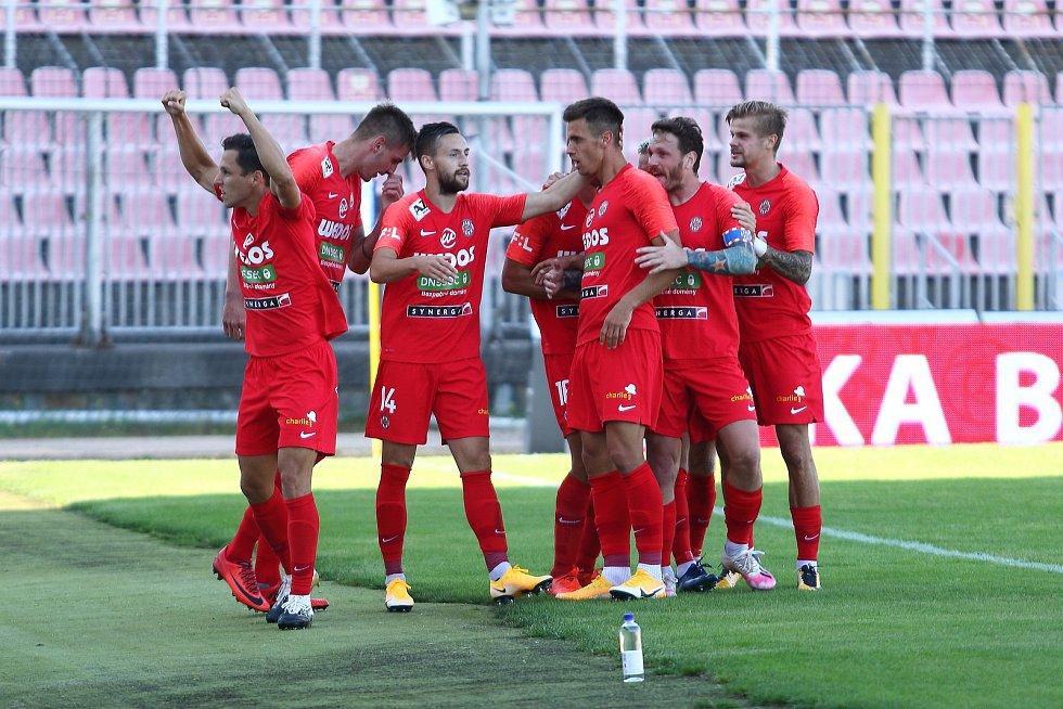 Fotbalisté Zbrojovky Brno narazí na Jihlavu.