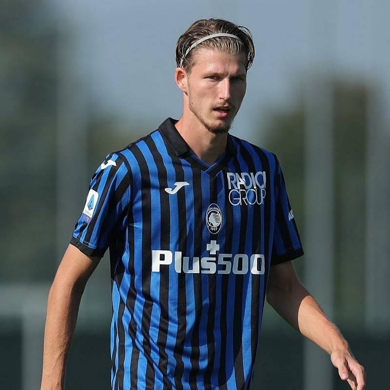 Fotbalista Lukáš Vorlický v dresu Atalanty Bergamo.
