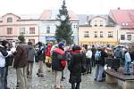 Vánoční polévka v Boskovicích