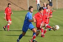 Fotbalisté FK Apos Blansko v předehrávcee 15. kola divize D poprvé vyhráli. Porazili Velké Meziříčí 3:0 po poločase 1:0. Skóre otevřel z penalty Libor Němec, ve druhé půli se trefil ještě Sehnal a Traxl.