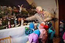 Hlavně pro děti jsou určené prohlídky betléma v kostele svatého Martina v Blansku.