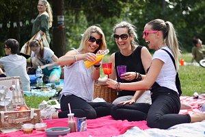 V Blansku pořádali piknik v parku. Na podporu pěstitelů.