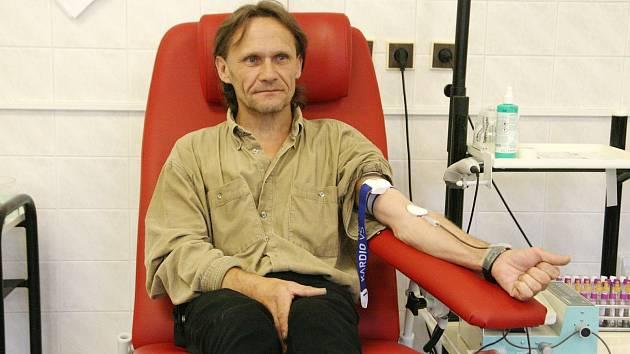 Ivo Kraus z Olomučan je dlouholetý dárce krve