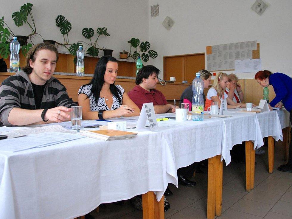 Volby v Letovicích na Blanensku.