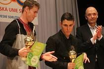 Zástupci České unie sportu vyhlásili nejlepší sportovce Blanenska za loňský rok.  Ceremoniál byl v boskovickém Zámeckém skleníku.