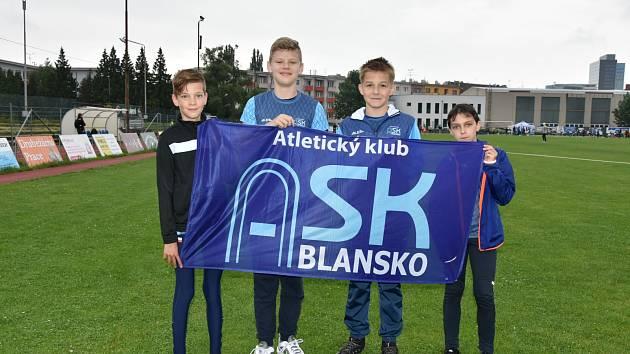 Mladší žáci ASK Blansko.