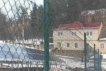 Fotovoltaická elektárna ve Velkých Opatovicích.