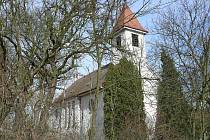 Kostel v Olomučanech.