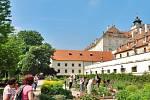 Valtický zámek, na který si dělají nárok Lichtenštejnové.