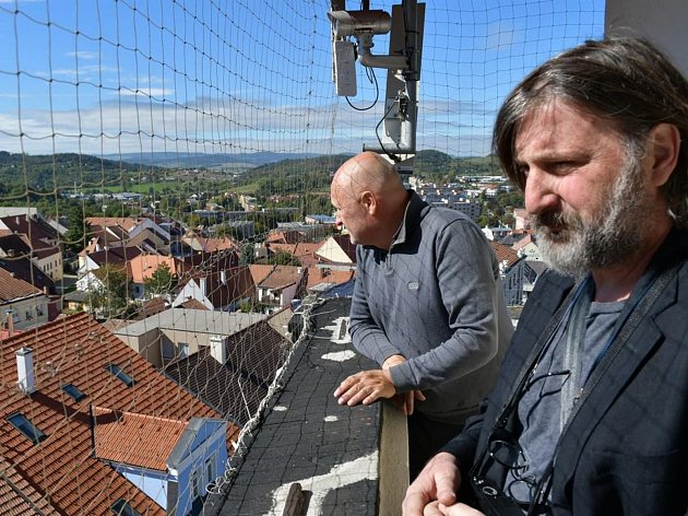 Chilský architekt Smiljan radic na návštěvě Boskovic.