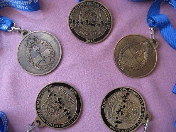 Sbírka medailí zArgentiny.