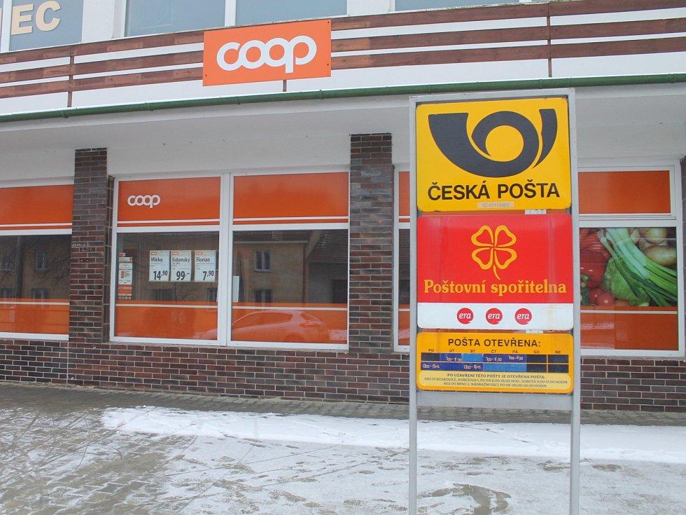 Vanovičtí nyní chodí vyřizovat poštovní služby do obchodu Jednoty.