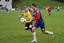 Fotbalisté Blanska porazili v předehrávce Šumperk a vedou divizi D.