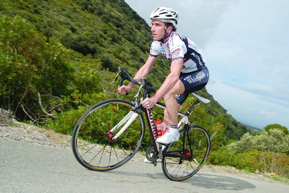 těchovský cyklista Martin Mareš