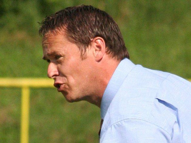 Petr Vašíček, bývalý trenér fotbalistů FK Apos Blansko