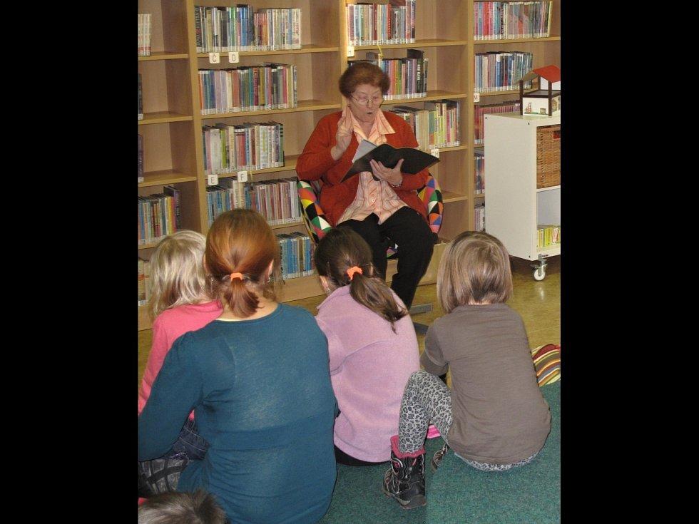 Už devět let se Městská knihovna Rájec-Jestřebí zapojuje do projektu Celé Česko čte dětem.