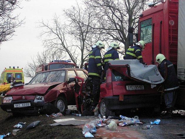 ilustrační foto hromadná havárie