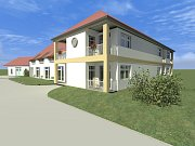 Čtrnáct nových pečovatelských bytů má vyrůst v centru obce Rudice. Postaví je soukromý investor