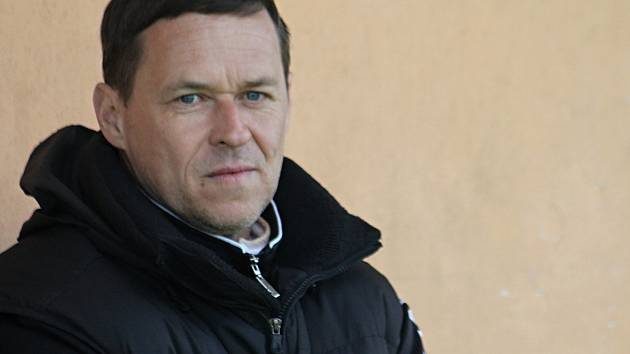 Fotbalový trenér Petr Vašíček.