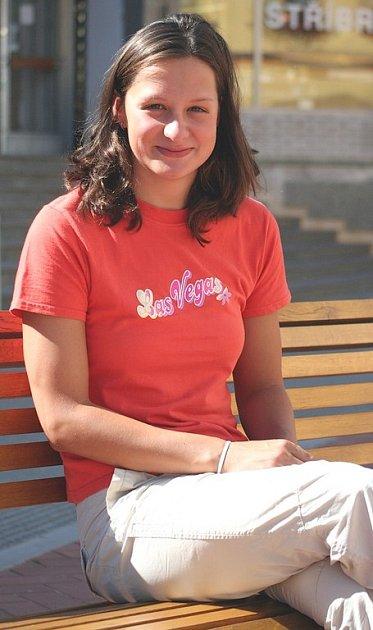 Plavkyně Komety Brno Silvie Rybářová odlétá za čtrnáct dní na univerziádu do Thajska.