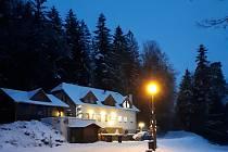Z večerní procházky zimními Jedovnicemi. Foto: Zlatuše Odehnalová