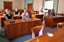 Boskovičtí studenti chystají podnikatelské projekty.