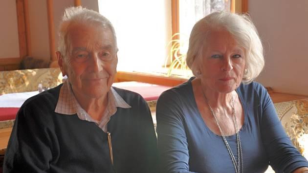 Zbyšek Nečas se svou manželkou Rosemary.