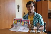 Jakub Černošek si letos ze zemského kola soutěže pro mladé filmaře Zlaté slunce odnesl hned dvě ceny.