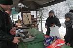 Blanenští rybáři prodávají kapry od pondělí. Od úterý nabídnou i pstruhy.