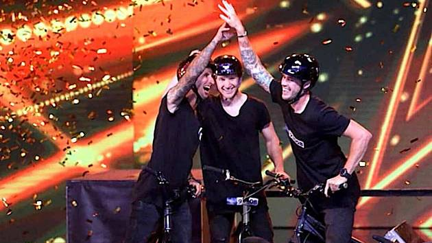 Ve finále Talentu je i Blanensko. Díky freestylové show Bike O´clock.