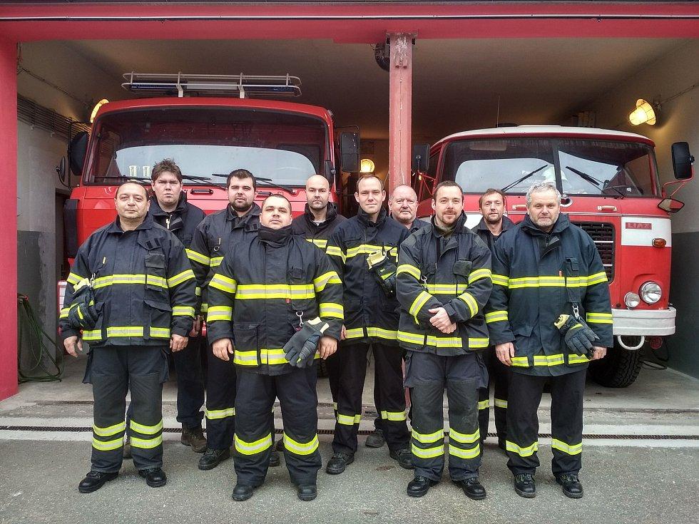Členové SDH Ruprechtov.