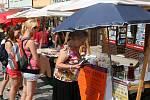 TRHY V CENTRU. Farmářské trhy se v Boskovicích konají jednou za měsíc. A kromě místních lákají prodejce i z odlehlejších částí republiky.
