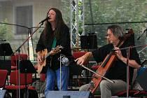 Hudební festival Hradologie v Lysicích.