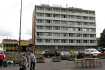 Bývalý hotel Dukla na náměstí Republiky, Blansko