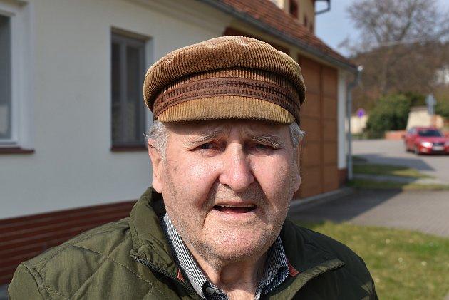 Pavel Horáček, 82let, vdůchodu.
