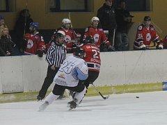 Boskovičtí hokejisté vyhráli druhý čtvrtfinálový zápas play-off krajské ligy v Blansku.